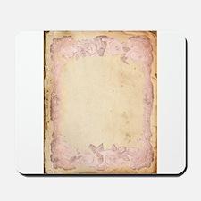 Vintage Rose Frame Mousepad