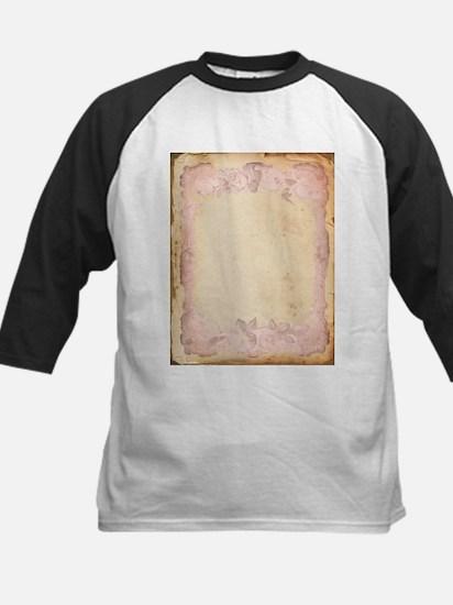 Vintage Rose Frame Baseball Jersey