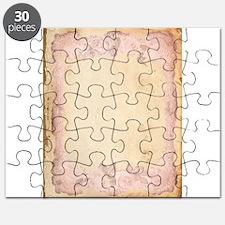 Vintage Rose Frame Puzzle