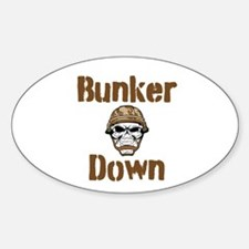 Bunker Down Decal