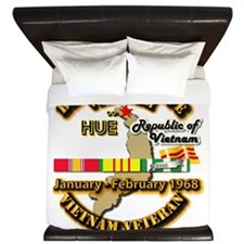 Battle of Hue, South Vietnam King Duvet