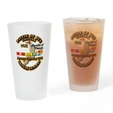 Battle of Hue, South Vietnam Drinking Glass