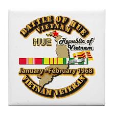 Battle of Hue, South Vietnam Tile Coaster