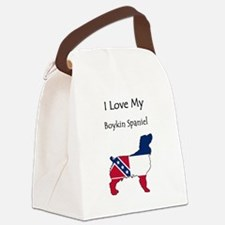 MSSilhouette Canvas Lunch Bag