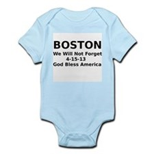 Boston we will not forget 4-15-13 Body Suit