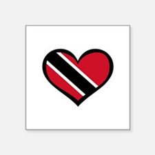 Trinidad Love Rectangle Sticker
