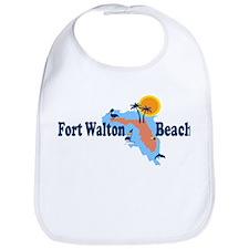 Fort Walton Beach - Map Design. Bib