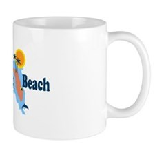 Fort Walton Beach - Map Design. Mug