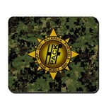 HFPACK Gold Insignia Woodland Camo Mousepad
