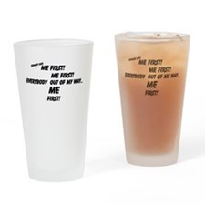 Funny Says Drinking Glass
