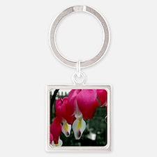 Bleeding Heart Flowers Keychains