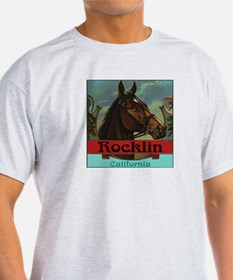 Rocklin Ash Grey T-Shirt