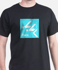 Competitive Swimming iRace Silhouette T-Shirt