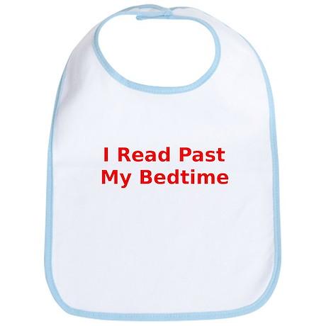I Read Past My Bedtime Bib