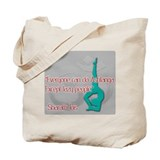 Ashtanga yoga Regular Canvas Tote Bag