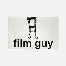 Film Guy Rectangle Magnet
