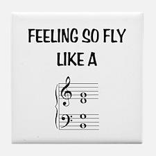 Feeling So Fly Tile Coaster