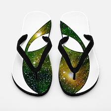 Alien - Cosmic Flip Flops