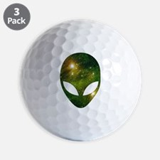 Alien - Cosmic Golf Ball