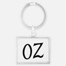 Oz in Black Keychains