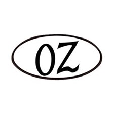 Oz in Black Patches