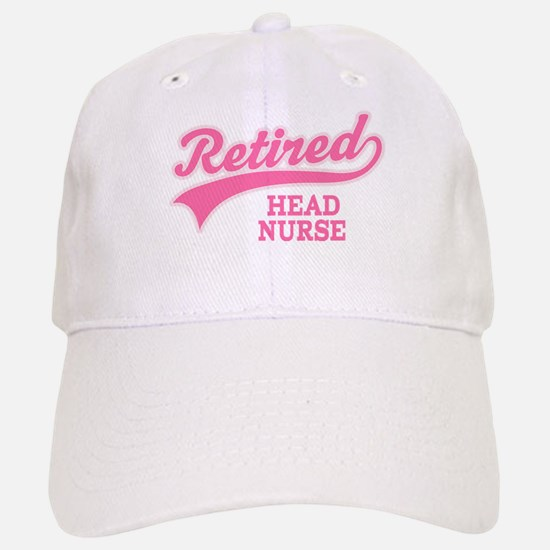 Retired Head Nurse Baseball Baseball Cap