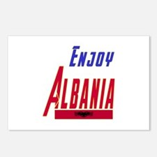 Albania Designs Postcards (Package of 8)