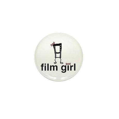 Film Girl Mini Button