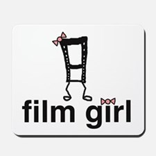 Film Girl Mousepad