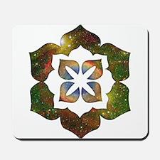 Cosmic Flower Mousepad