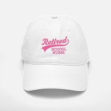 Retired School Nurse Baseball Baseball Cap