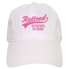 Retired School Nurse Baseball Cap