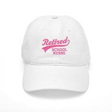 Retired School Nurse Baseball Cap