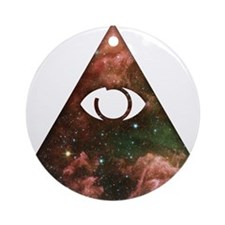 All Seeing - Cosmic Ornament (Round)