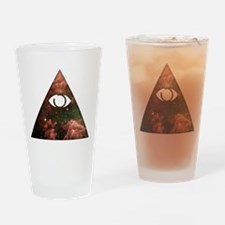 All Seeing - Cosmic Drinking Glass