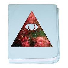 All Seeing - Cosmic baby blanket