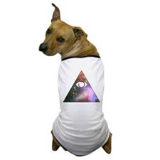 All Seeing Cosmic Eye Dog T-Shirt