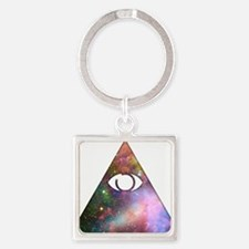 All Seeing Cosmic Eye Keychains