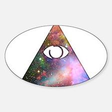 All Seeing Cosmic Eye Decal