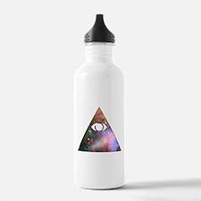 All Seeing Cosmic Eye Water Bottle