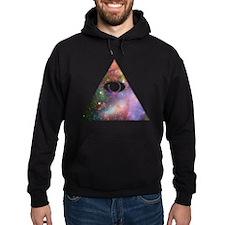 All Seeing Cosmic Eye Hoodie