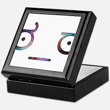 Serious Face - Cosmic Keepsake Box