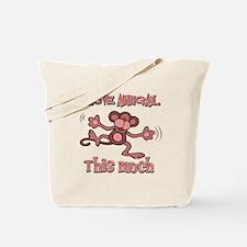 I love Abbigail this much Tote Bag