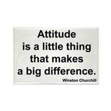 Churchill Attitude Rectangle Magnet