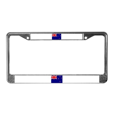 New Zealand Flag License Plate Frame