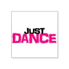 Just Dance Rectangle Sticker