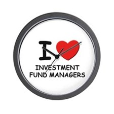 I love investment fund managers Wall Clock