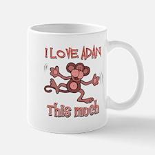 I love Adan this much Mug