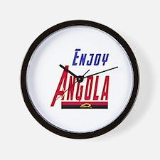 Angola Designs Wall Clock