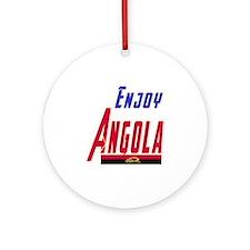 Angola Designs Ornament (Round)